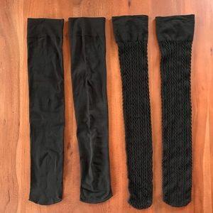 2 New AA Knee High Socks